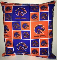 Boise State Pillow Boise Football Pillow NCAA HANDMADE In USA