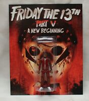 Friday The 13th Part 5  Reggie The Reckless Custom Action Figure Hand Made!