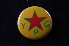 "Syria Peoples Protection Unit Democratic Union Party 1"" badge pin button YPJ YPG"