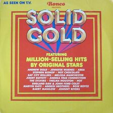 Ronco Presents Solid Gold - Hit-Sampler: Abba, BCR, Rose Royce (LP USA 1977)