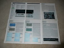 Yamaha R-2000 Receiver Review, 1981, 6 pages, Full Test, SPecs, Info