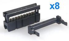 8pz Conettori IDC20 femmina IDC 20 pin per cavo piatto flat cable