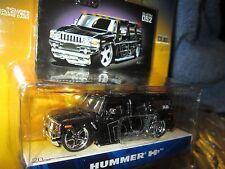 dub city 2003 hummer dub city black mags jada 1/64  8+ big H2 DUB SPECIAL