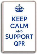 KEEP CALM AND SUPPORT QPR, QUEENS PARK RANGERS FOOTBALL TEAM Fridge Magnet