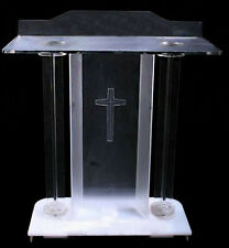 New Church Podium Acrylic Lectern Pulpit Event Church Wedding Prayer