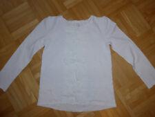 Pullover Langarmshirt Gr. 134 Mädchen Palomino weiß