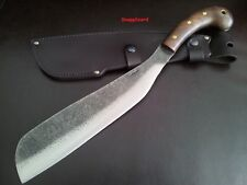 "Condor Village Parang Machete 12"" Carbon Steel Blade Hardwood Handle CTK419-12HC"