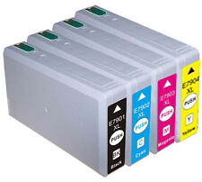 79XL Multipack 4 Ink Cartridge Set For EPSON Workforce Pro WF-4630DWF Non OEM 79