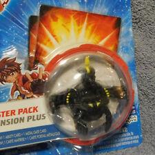 BAKUGAN New Vestroia Bakusteel Black Darkus Battle Damaged VIPER HELIOS NIP!
