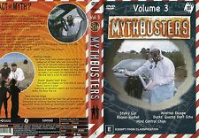MYTHBUSTERS - Volume 3 - NEW - Never played!! - Region 4 PAL