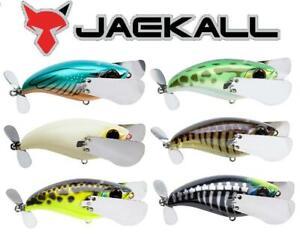 """Jackall Pompadour Noisy Topwater Crawling Bait 3"""" 3/4 oz. (Select Color) JPOMP79"""