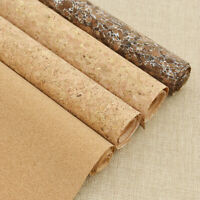 53x8.2'' Natural Cork Leather Fabric Colored Bow Bag Shoes Crafts Material Sheet