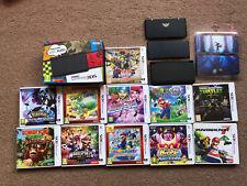 New Nintendo 3DS Console Plus Cover Plates Plus Games