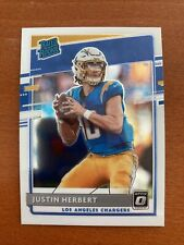 Justin Herbert Rated Rookie 2020 Donruss Optic #153 CHARGERS NFL