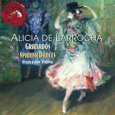Granados Spanish Dances Danzas Españolas Valses Poeticos Alicia de Larrocha CD