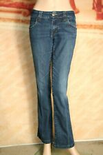 Serfontaine Avatar Jeans Bootcut Solid Gold Rinse Stretch tag size 27
