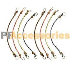 "8 Pcs Mini Bungee Cord Strap Heavy Duty Tarp Bungie Elastic Tie Down 10"" inch"
