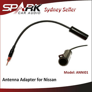 CT for Nissan Maxima 1993-95 2004-08 Radio Antenna Adaptor Diversity 2-pin type