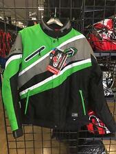 Choko Razer Mens Nylon Snowmobile Jacket Green XL