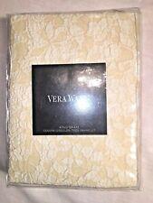 Vera Wang Sculpted Floral King Pillow Sham ~Beige/Ivory/Cream~ 2 Avail Nwt $195