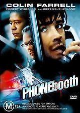 Phone Booth DVD Forest Whitaker Colin Farrell Thriller Movie - AUSTRALIAN REGION