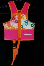 SwimSchool Training Vest Pink with Flowers 20-30LB Girls