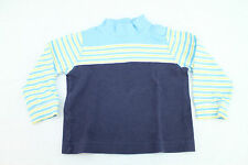 Hanna Andersson Blue Striped Shirt Size 90 2T-3T