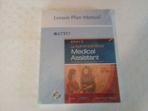 KINN'S The Administrative Medical Assistant lesson Plan Manual 6th Edition