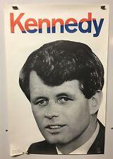 Original Vintage ROBERT KENNEDY FOR PRESIDENT POSTER 1968