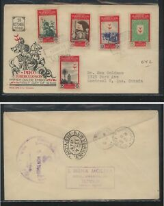 Spanish  Morocco  nice cachet  registered cover to Canada      MS0124
