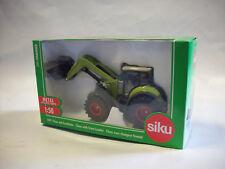 Siku 1979 - Claas Traktor mit Frontlader - 1:50 - Grün/Grau