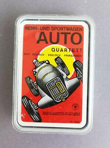 Seltenes Quartett von ASS Nr. 645 Renn und Sportwagen 4 sprachig