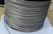 3MM X 300M Silver Dyneema® Fiber Synthetic Winch/ yacht rope tensile:900 kg -NEW