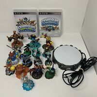 16 Skylanders Lot (Spyro's Adventure, Swap Force) + 1 Portal And 2 Games Ps3
