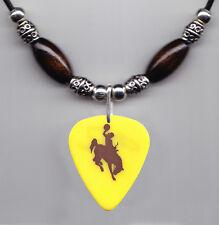 Chris LeDoux Signature Bucking Horse and Rider Guitar Pick Necklace 2003 Tour