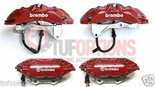 Ford FPV GT-P RED Brembo FG 6 Piston FRONT & 4 Piston REAR Caliper & Pad Set