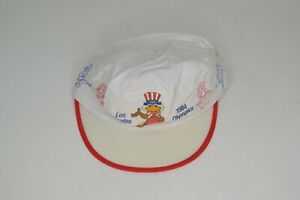 Vintage Los Angeles Olympic Games 1984 Sam The Olympic Eagle Painter Hat Cap
