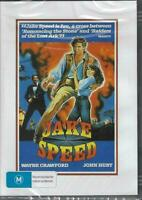 Jake Speed DVD Wayne Crawford New and Sealed Plays Worldwide