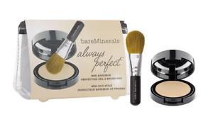 bareMinerals Always Perfect Mini BareSkin Perfecting Veil & Brush Duo Light med