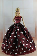 Fashion Princess Party Dress/Evening Clothes/Gown For Barbie Doll S324