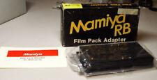 Mamiya RB67 Film Pack Adapter NEW