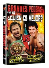 GRANDES PELEAS VOL.47 QUIEN ES EL MEJOR MANNY PACQUIAO VS JULIO CESAR CHAVEZ