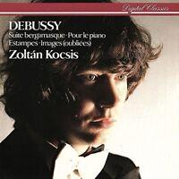ZOLTAN KOCSIS - KLAVIERKONZERTE   CD NEW CLAUDE DEBUSSY