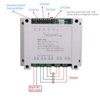 4-Kanal 2,4G IoT 10A WIFI Smart Control Switch Selbstverriegelndes Relaismodul