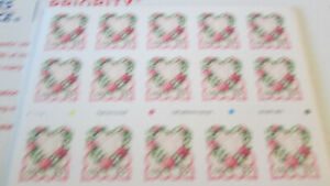 Victoria Love Booklet Pane of 20 stamps #3274 MNH