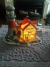 Pigeonhead Lighthouse - Dept. 56 New England Village Series