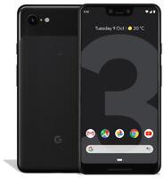 Google Pixel 3 XL Unlocked Black 64GB G013C 'LCD BURN' with warranty
