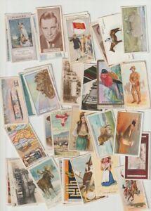trade+cigarette cards100+mixed cigarette cards