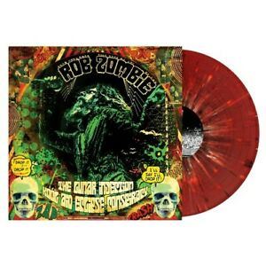ROB ZOMBIE - THE LUNAR INJECTION KOOL AID ECLIPSE CONSPIRACY -2 LP Red Splatter