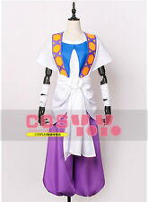 MAGI Sinbad new White Purple Cosplay Costume full set outfit Free Shipping